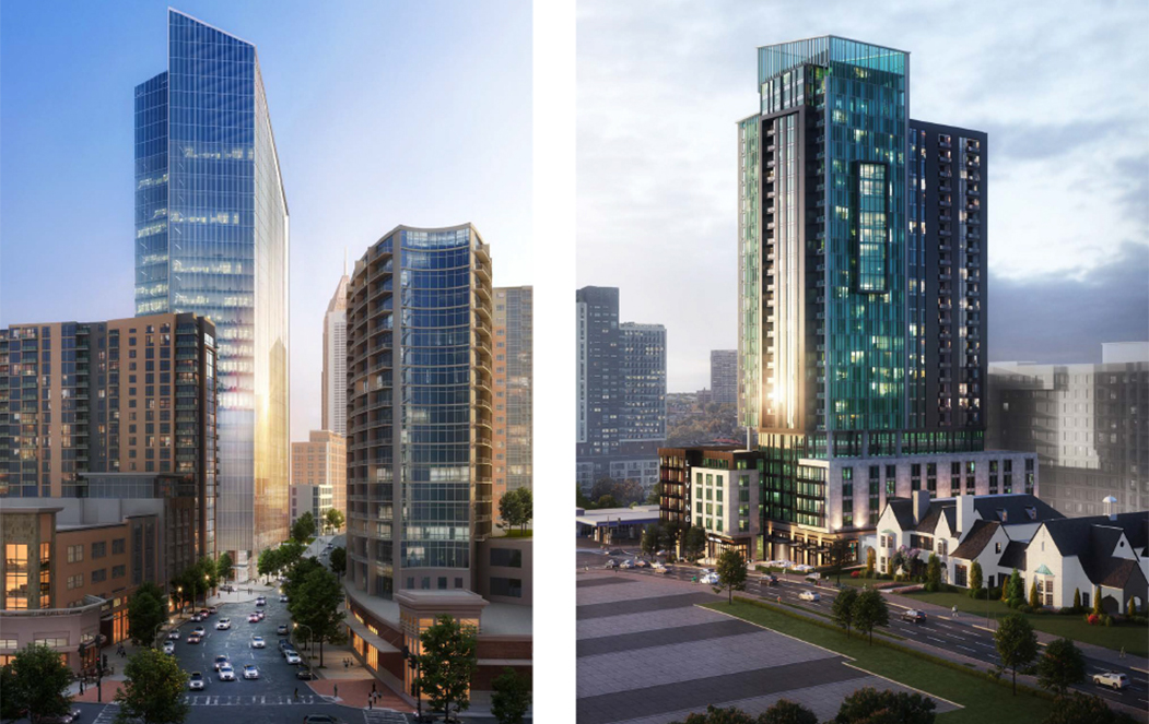 The Midtown Development Review Committee held their first virtual meeting on May 12 with the review of an ambitious new mixed-use development proposed at 1020 Spring Street.