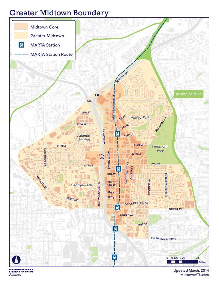 Resource Center About Midtown Atlanta