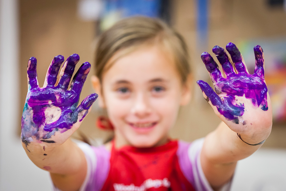 Kids will get messy and create fridge-worthy at the High Museum's summer camps.