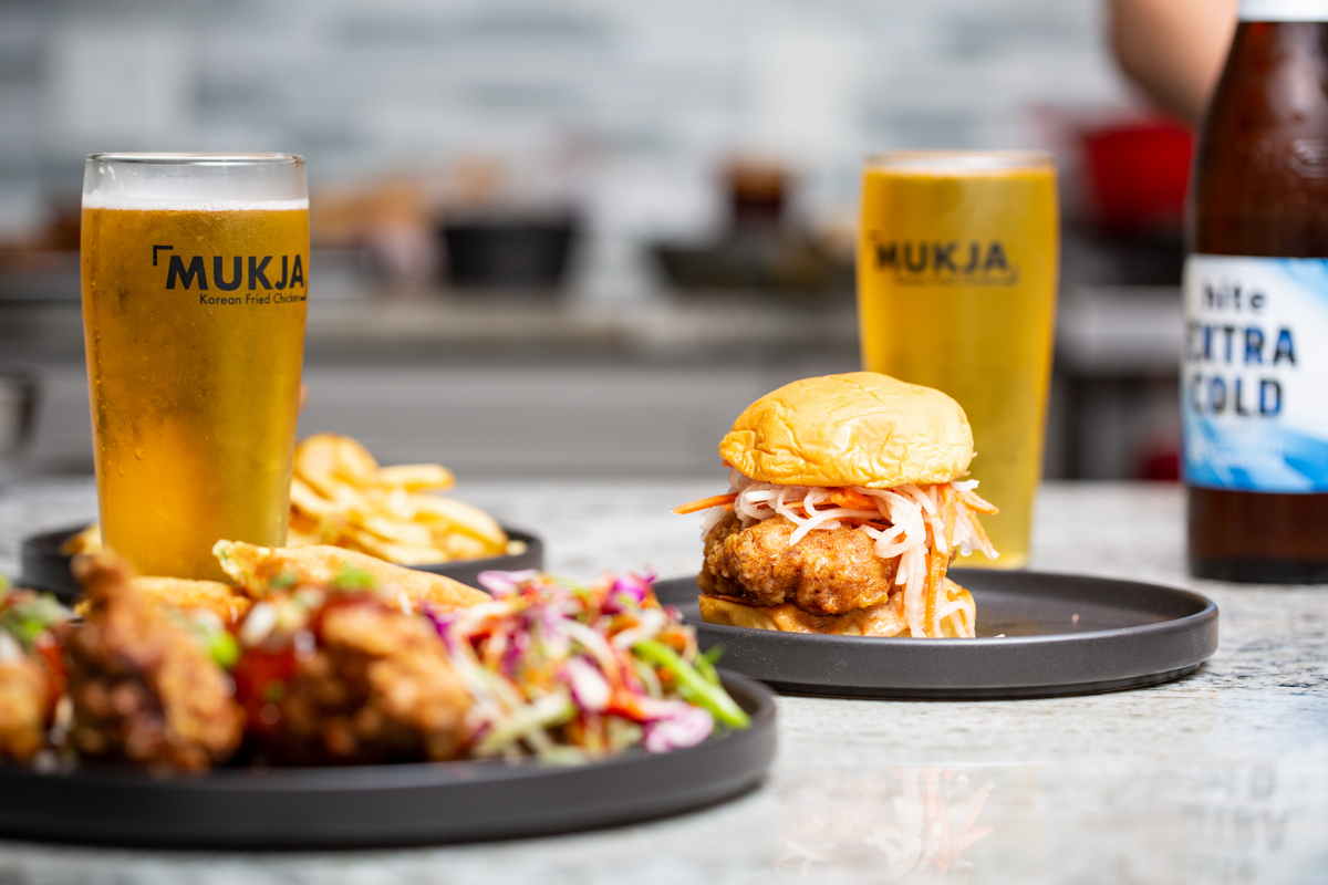 A Bird on a Bun and a Korean beer: A must-try at Mukja