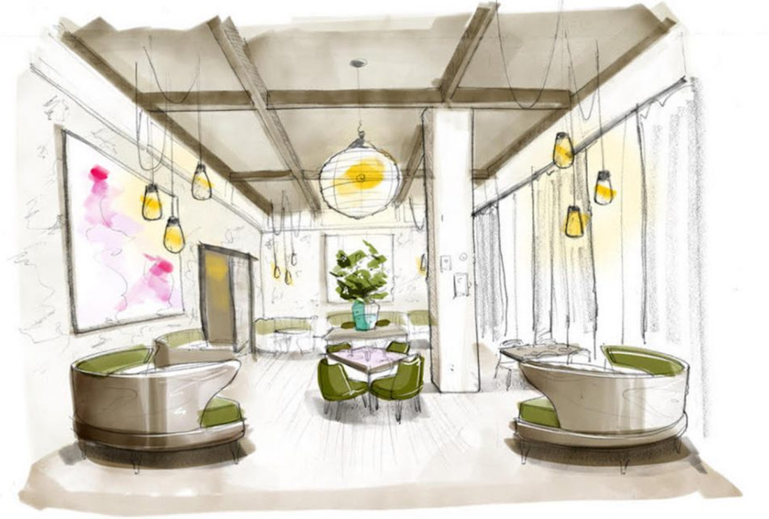 First announced in October 2018, this Southern European eatery is opening this fall inside the lilli Midtown apartment community.