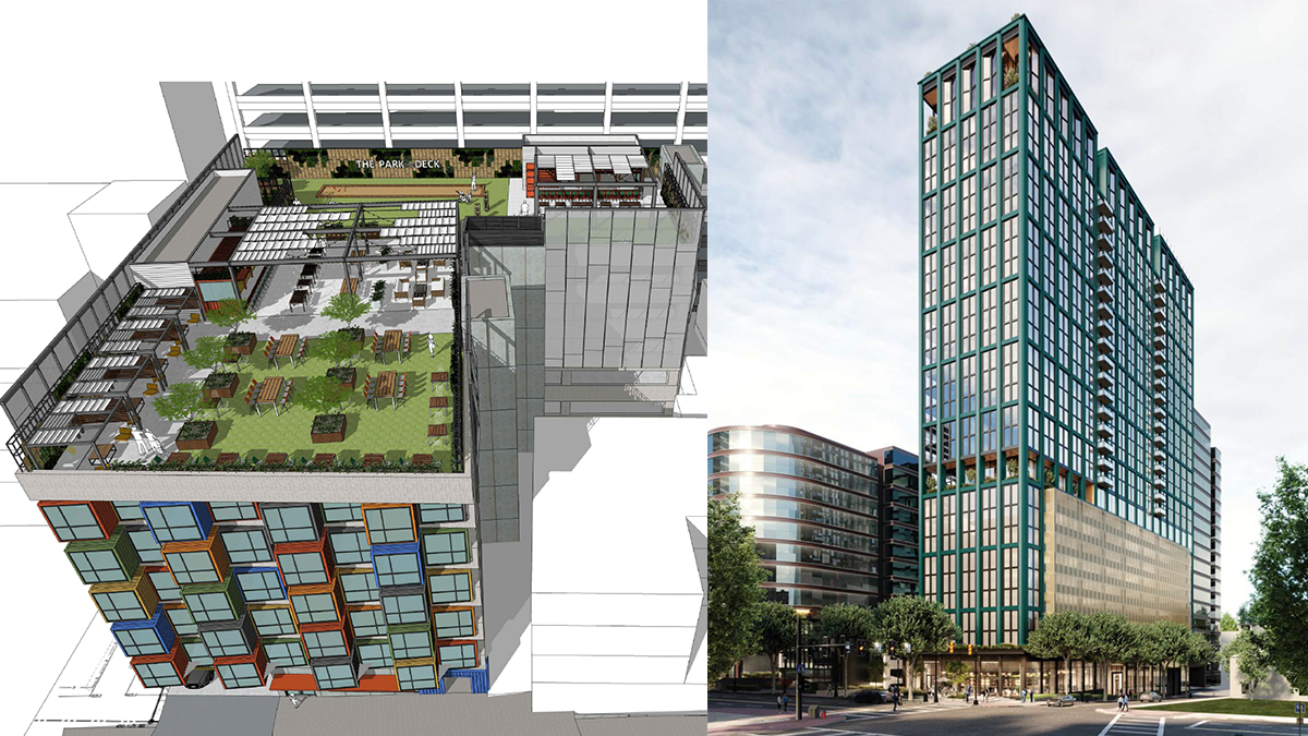The Midtown Development Review committee saw two project applications this month: a 54-unit micro-housing project at 13th Street and Crescent Avenue featuring shipping containers, and a 34-story mixed-use project slated for Peachtree Street. Read the DRC's recommendations here.