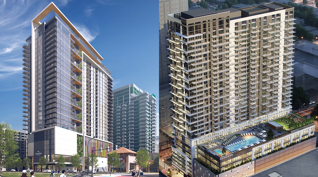 Two projects were presented at the July 2021 Midtown DRC meeting.