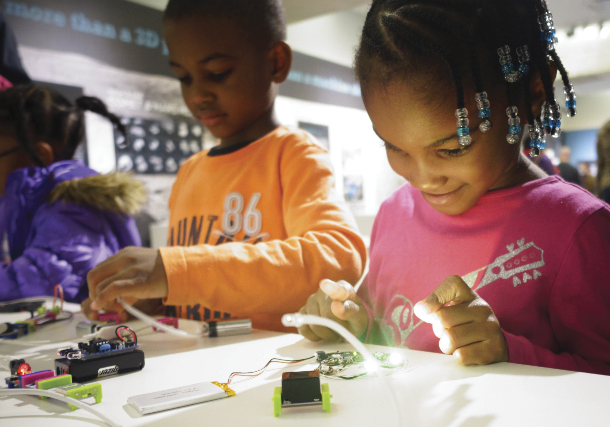 MODA is looking for the littlest engineers to join its week-long camps this year!