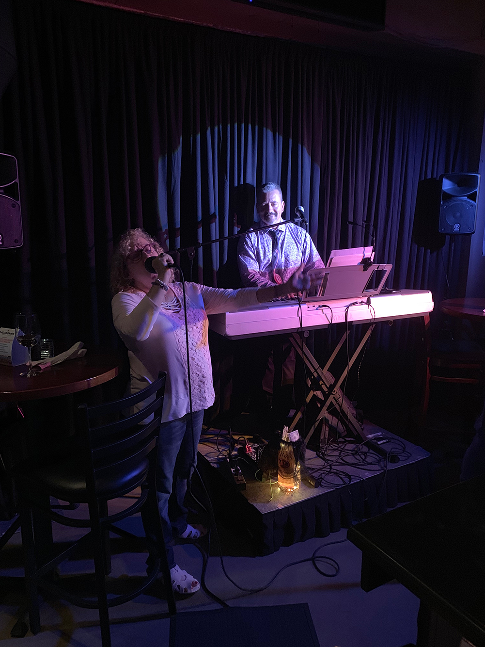 A newer addition to Midtown, Mediterranean restaurant Olive Bistro has a keyboardist and singer playing contemporary and past hits on Tuesdays, an open mic night on Fridays and jazz on Sundays during its brunch.
