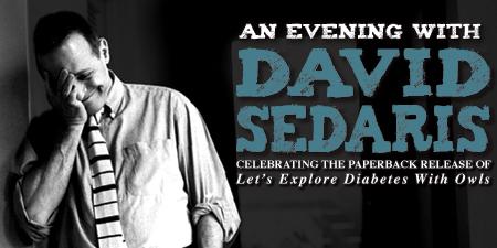 An Evening with David Sedaris at The Fox Theatre- News ...