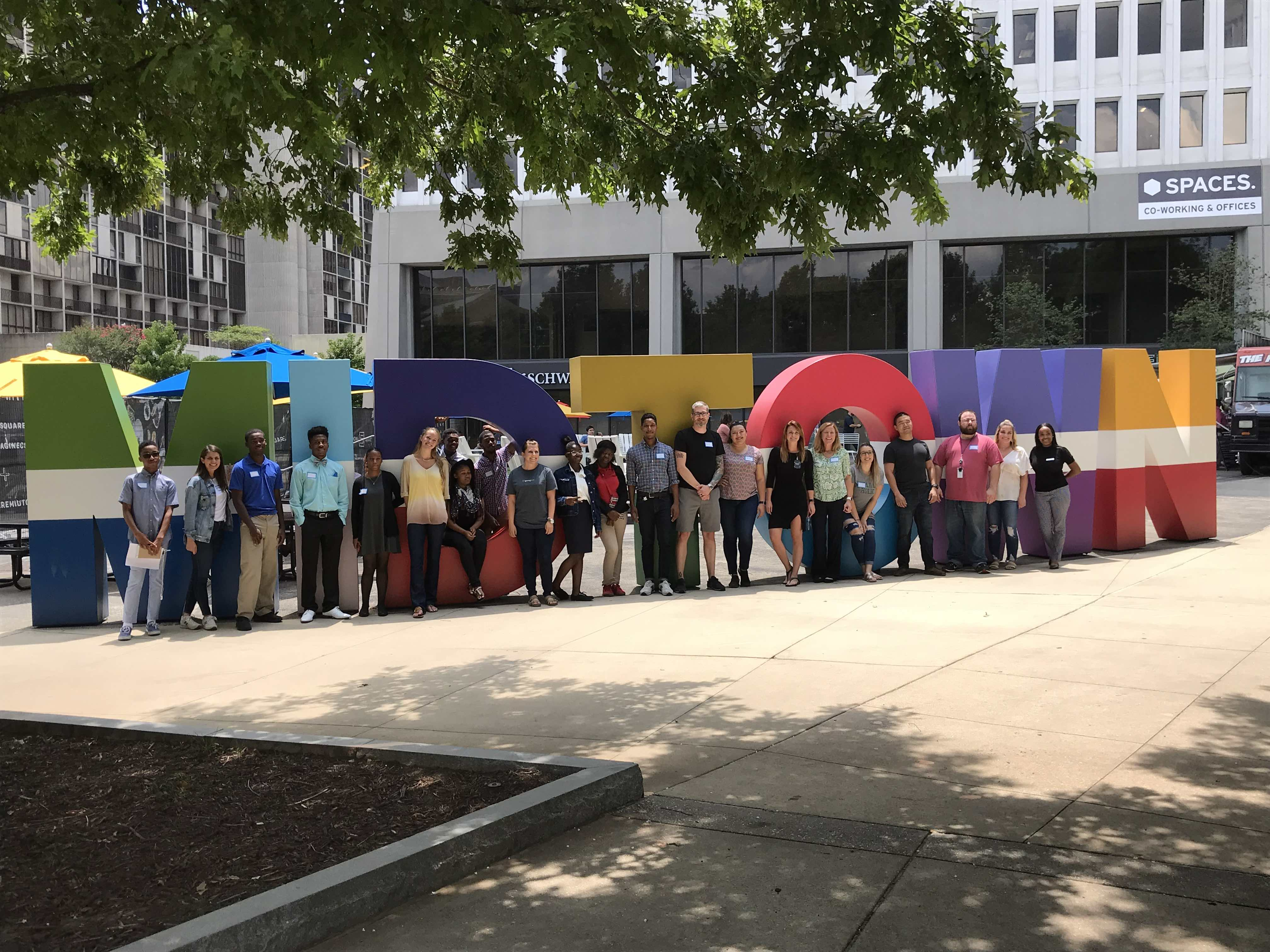 Springbot is located in Colony Square, making it easy to plan volunteer days with Boys and Girls Club of Metro Atlanta.