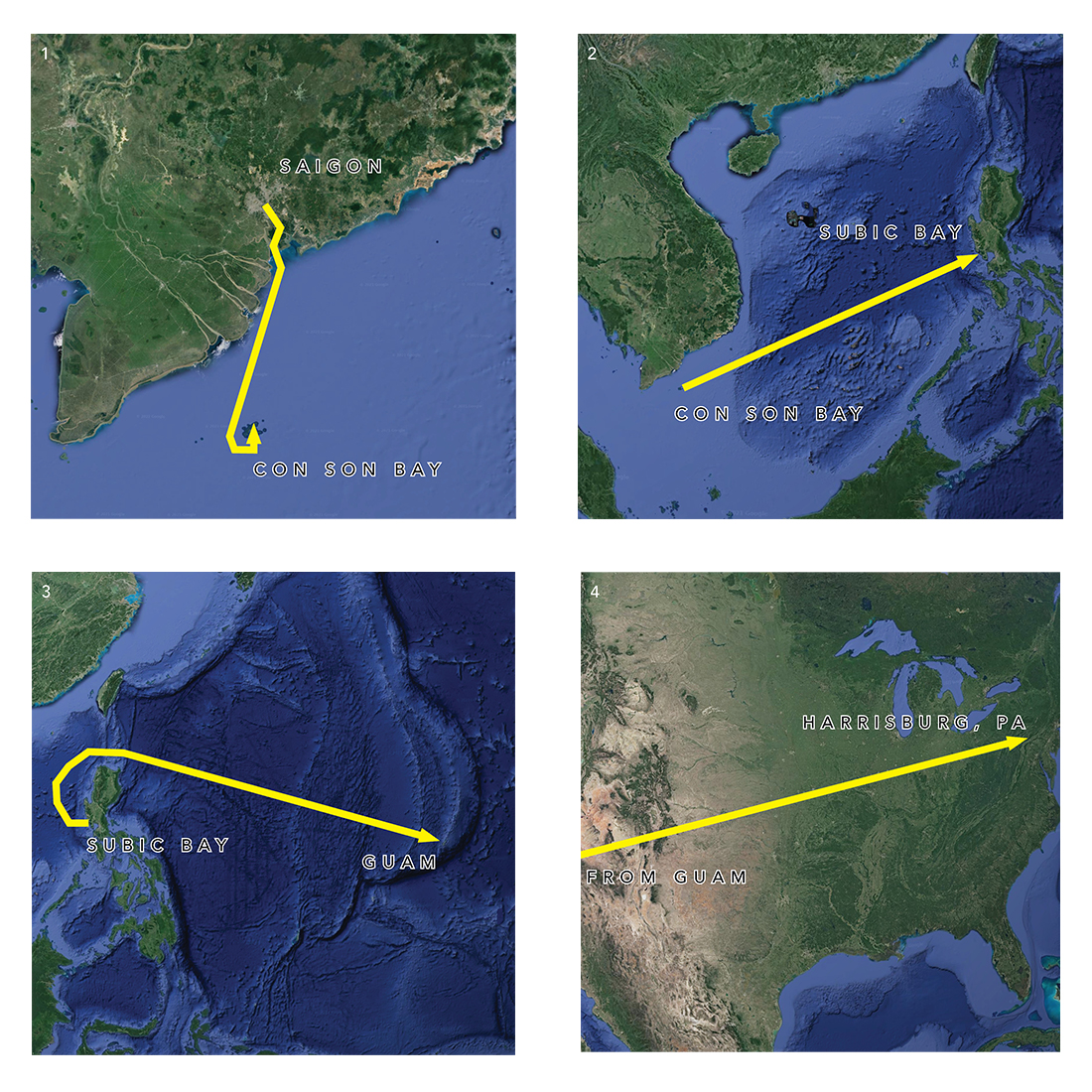 Thau's journey from Vietnam to Atlanta.