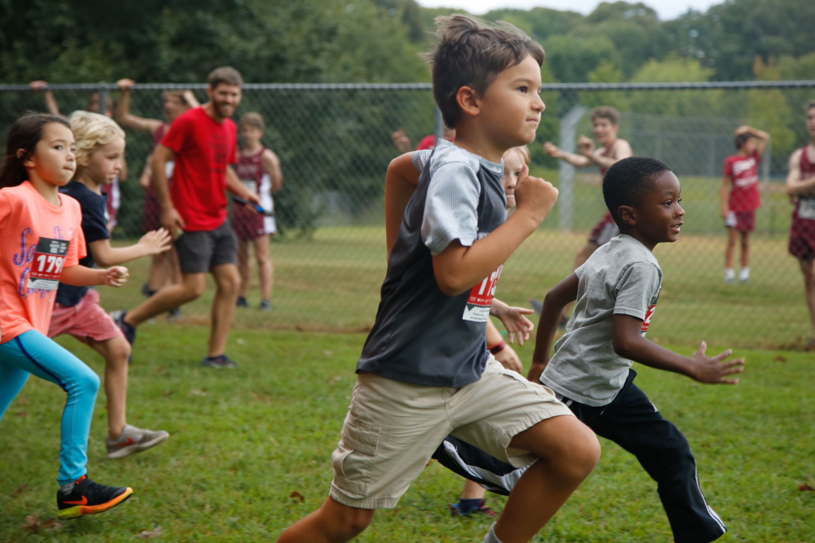 Introduce your child to the world of running with Atlanta Track Club's Youth Running Series.