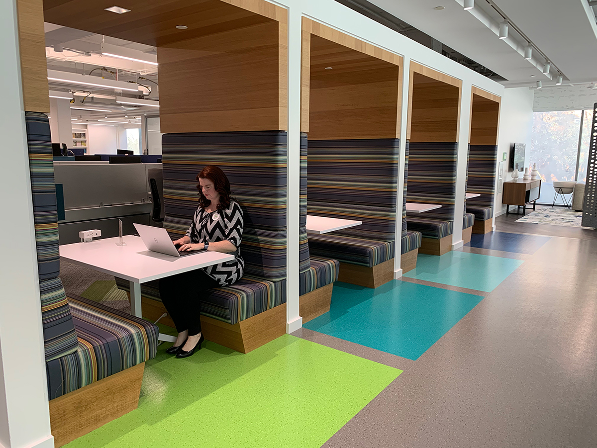 Flooring manufacturer Interface Inc. plans to bring its metro Atlanta employees back to its Midtown headquarters — but not before thinking through every detail of how its officeoperates and making changes as needed to keep its employees and guests safe.