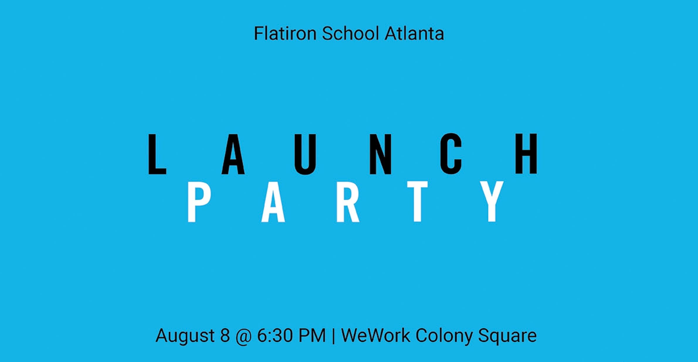 Flatiron School Atlanta Launch Party | Midtown Alliance