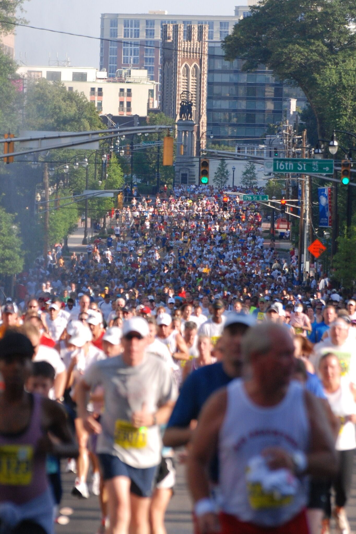 Midtown has been host to numerous running events, including the Peachtree Road Race (pictured), but this will be the first time Atlanta has hosted the Olympic Marathon Trials.