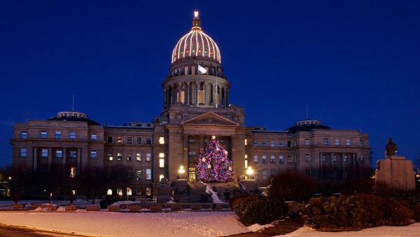 Idaho State Capitol Christmas Tree Lighting & Idaho State Capitol Christmas Tree Lighting   Downtown Boise ID