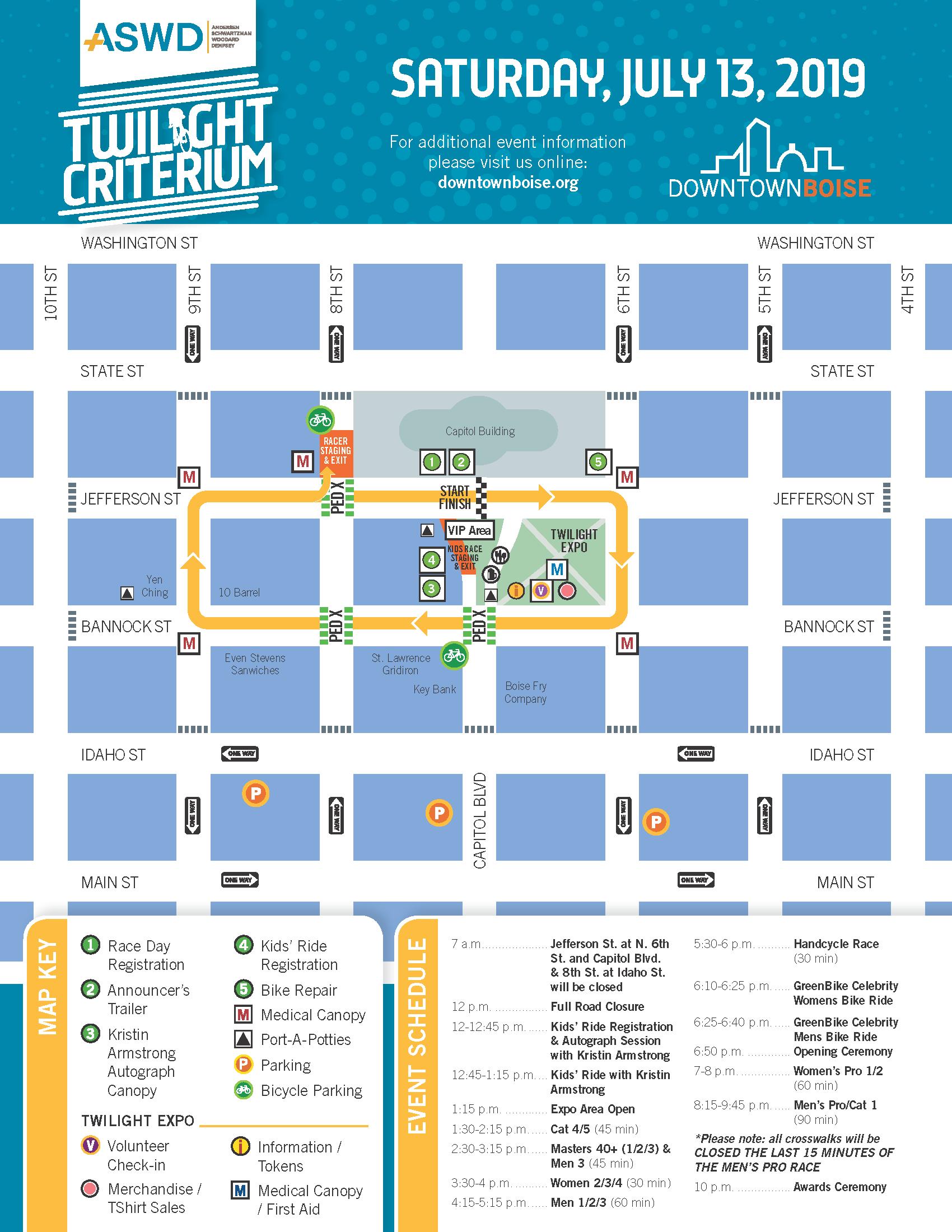 Twilight Criterium | Events | Downtown Boise Association
