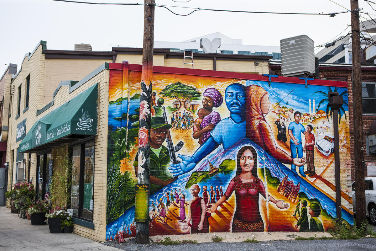 Global Refugee Mural