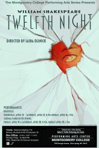 "Montgomery College Performing Arts Series ""Twelfth Night"""