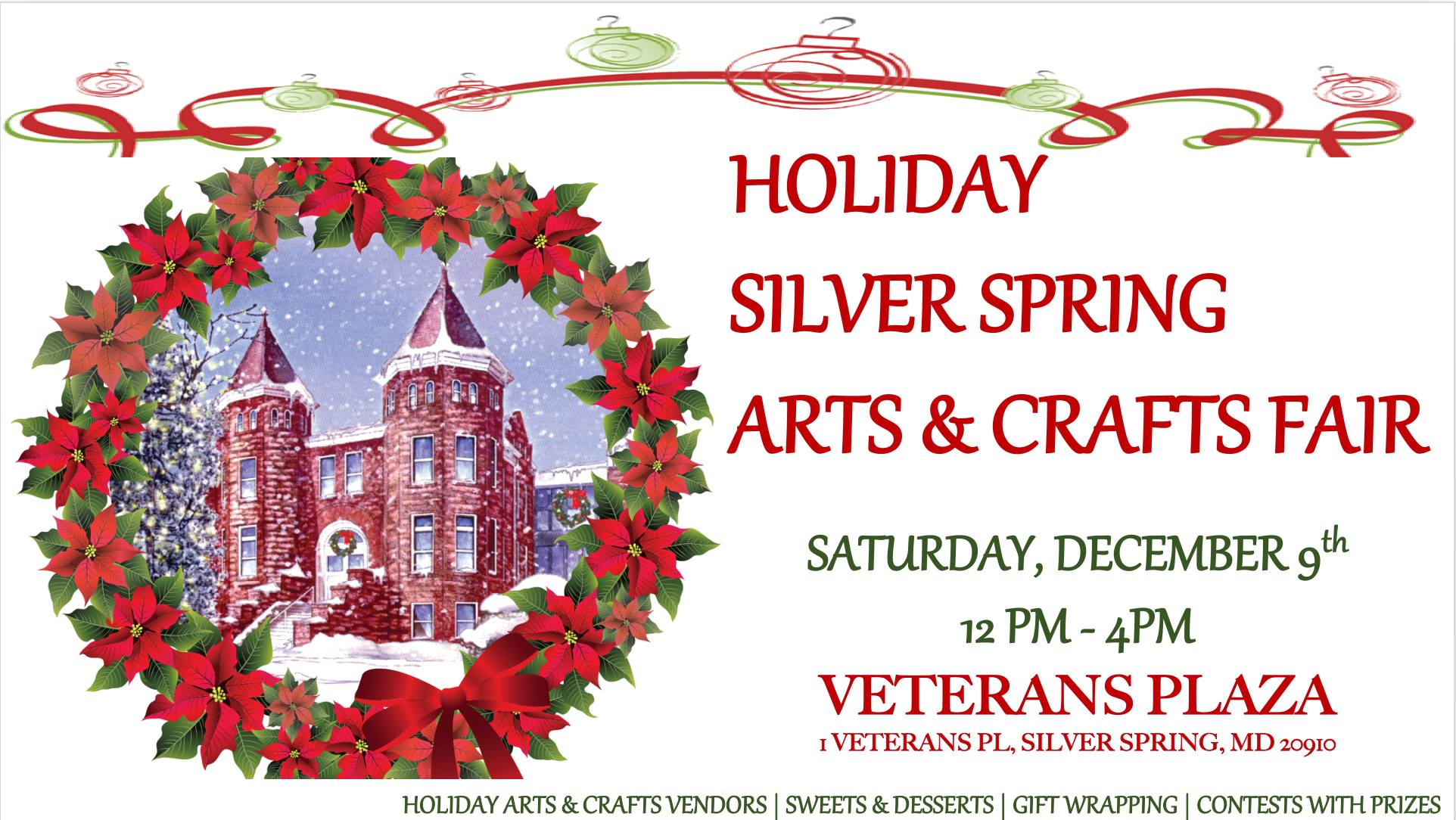 Silver Spring Christmas Market and Holiday Craft Show