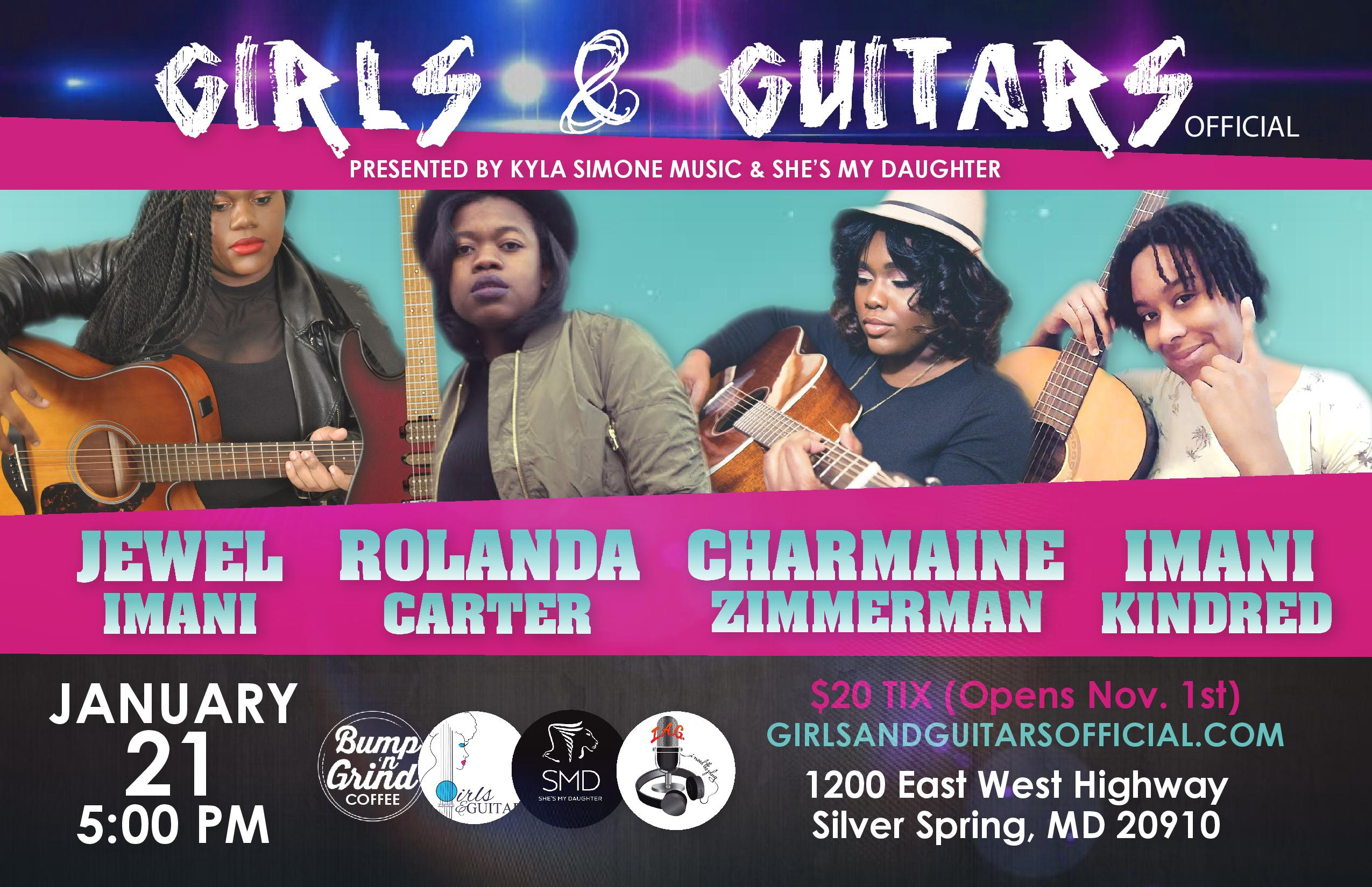 Girls & Guitars Silver Spring