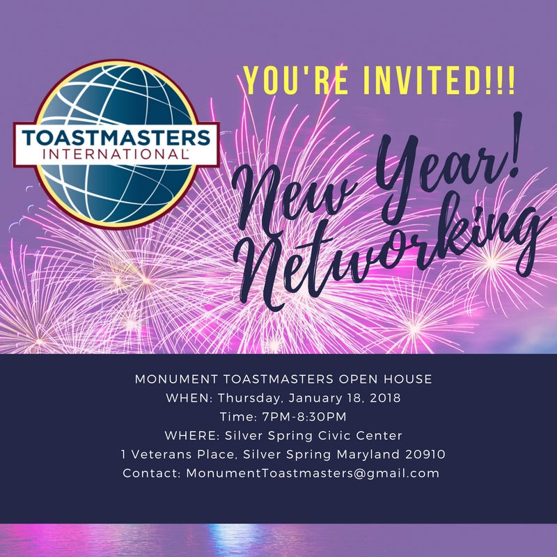 Monument Toastmasters Open House