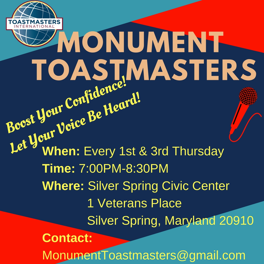 Monument Toastmasters Club