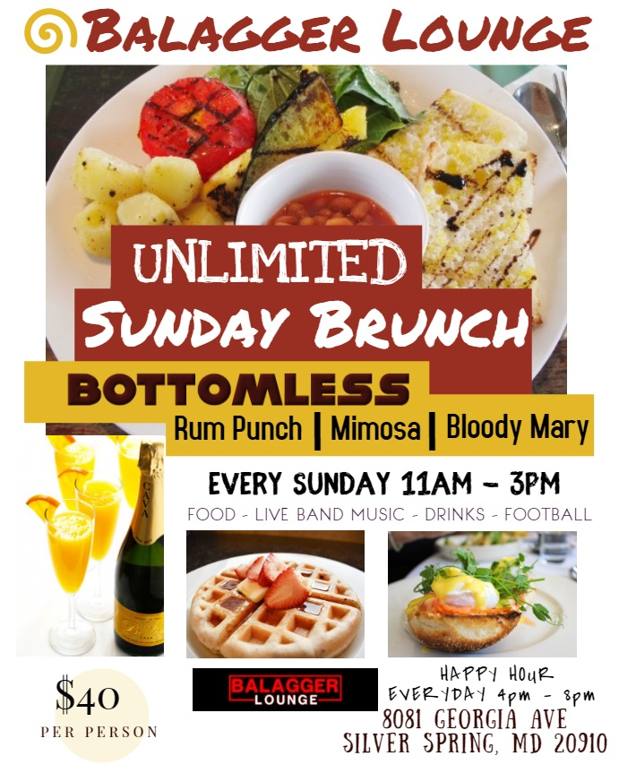 UNLIMITED SUNDAY BRUNCH