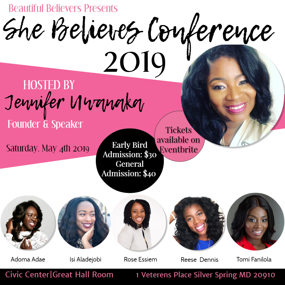 Beautiful Believers She Believes Women's Conference 2019