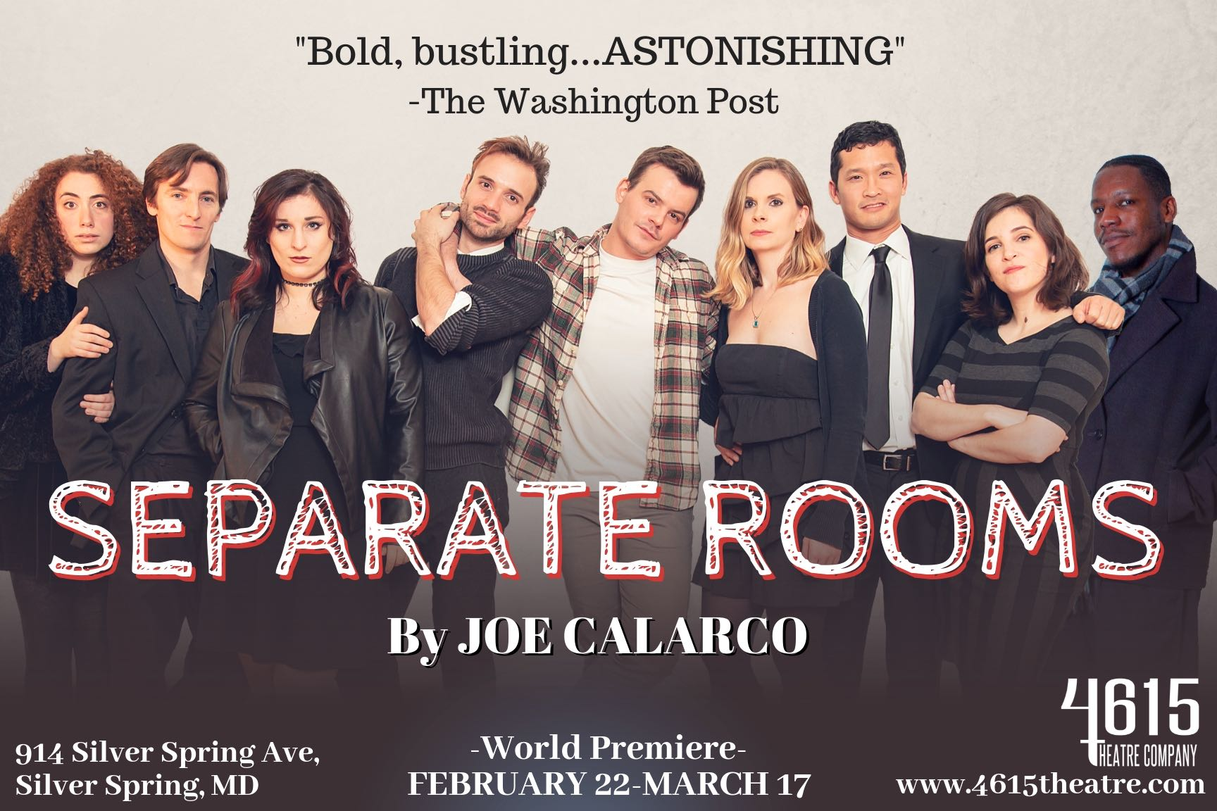 4615 Theatre Presents: SEPARATE ROOMS