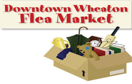 Downtown Wheaton Flea Market