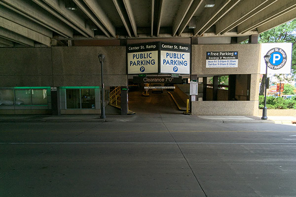 Center St Ramp | Downtown Rochester, MN