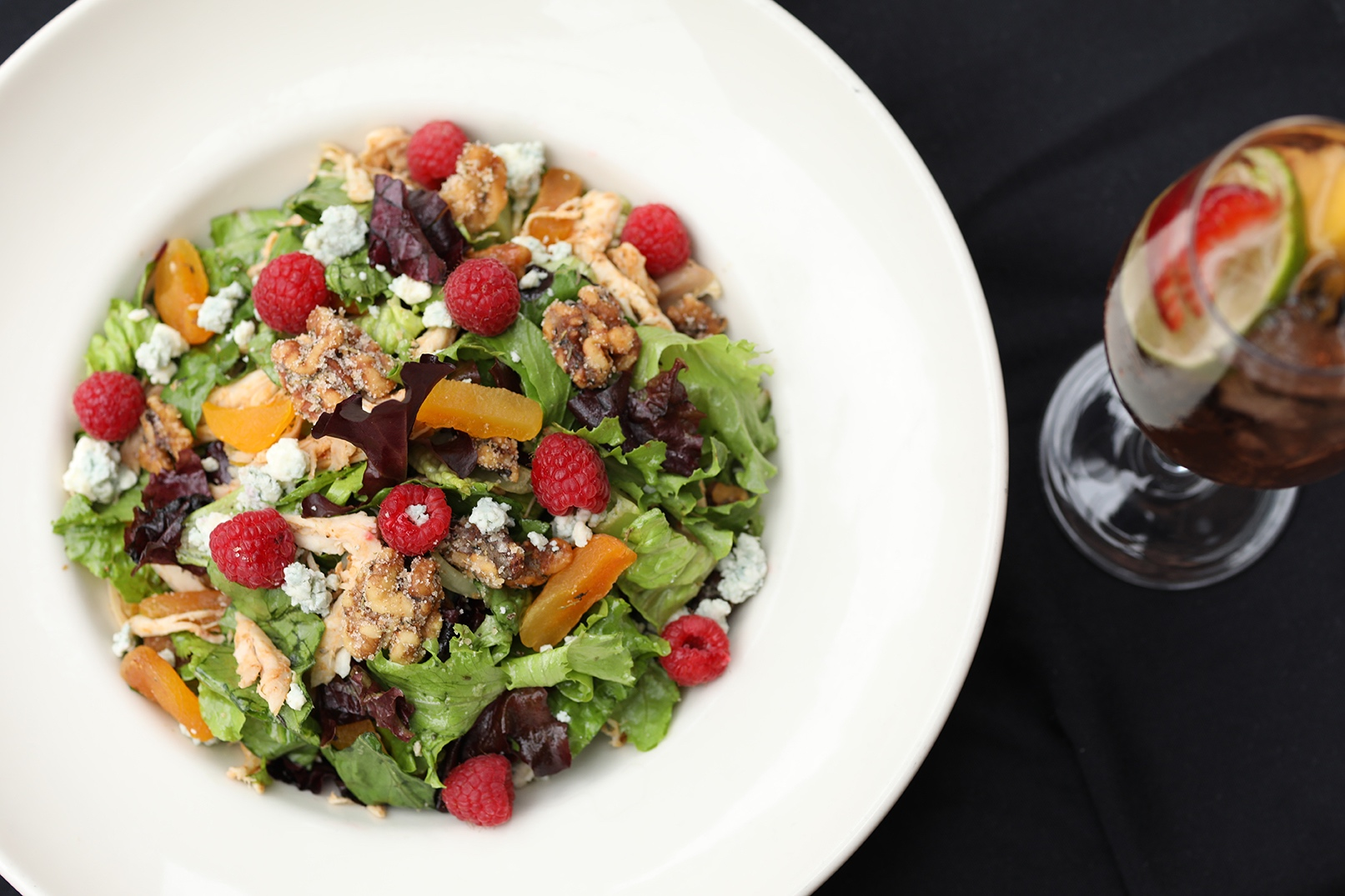 Chester's Walnut and Berry Salad