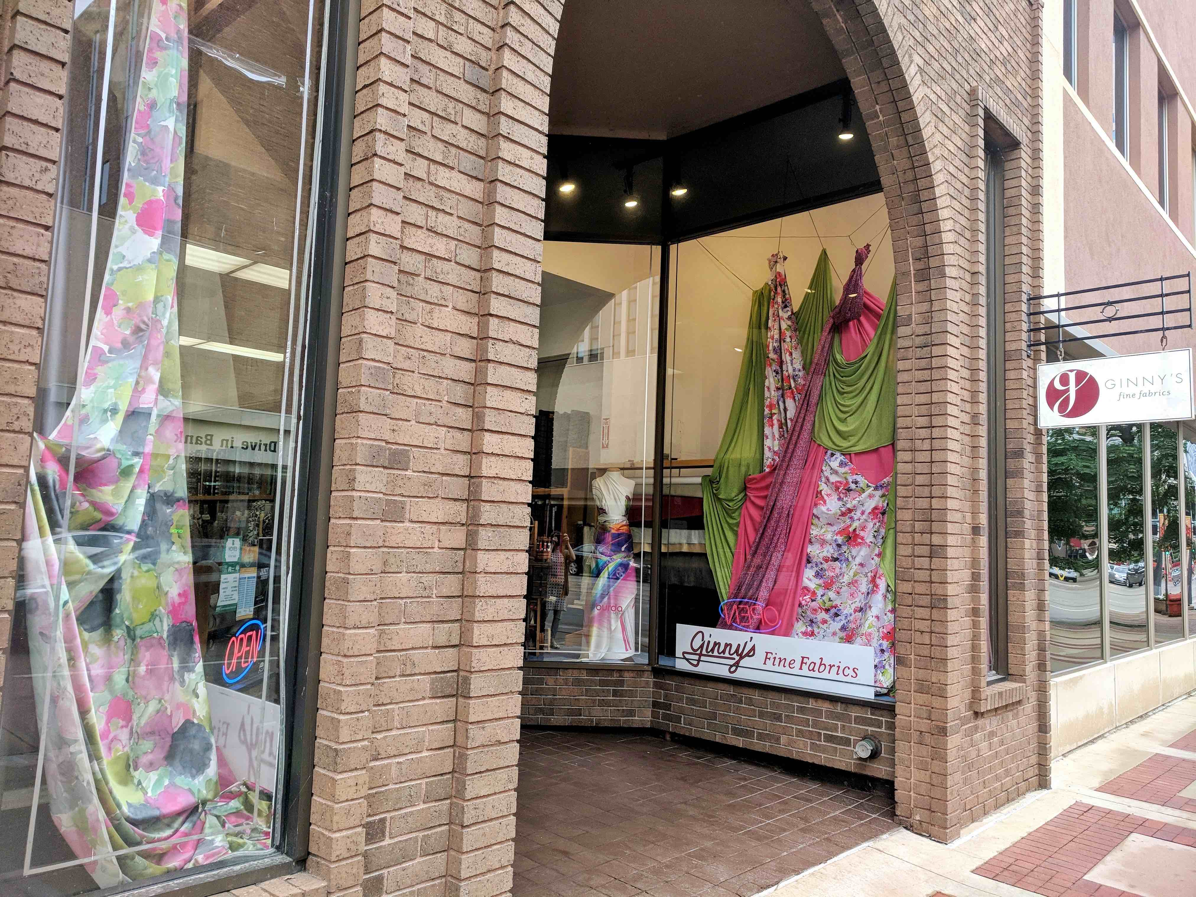 Ginny's Fabric Store Front