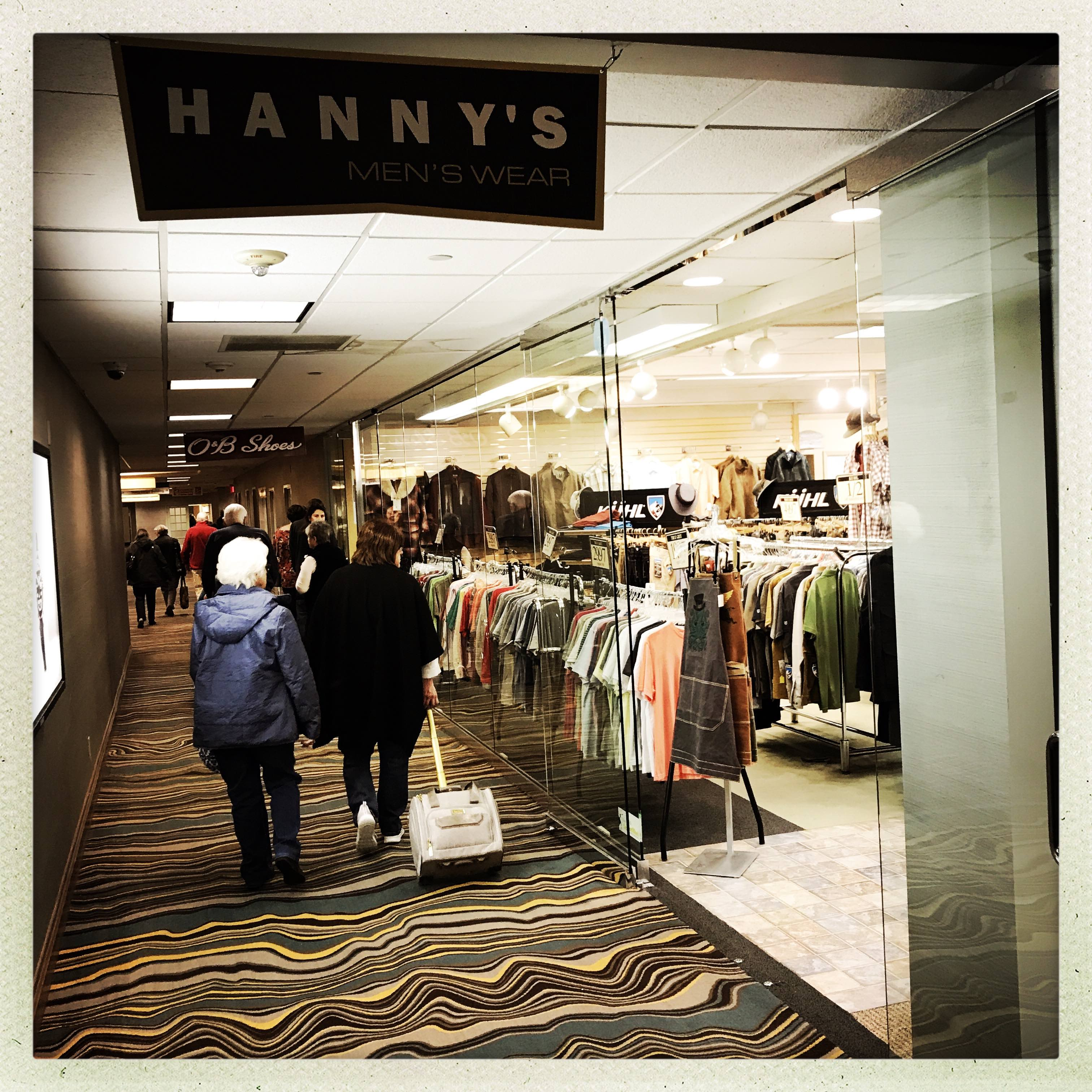 Hanny's Mens Store