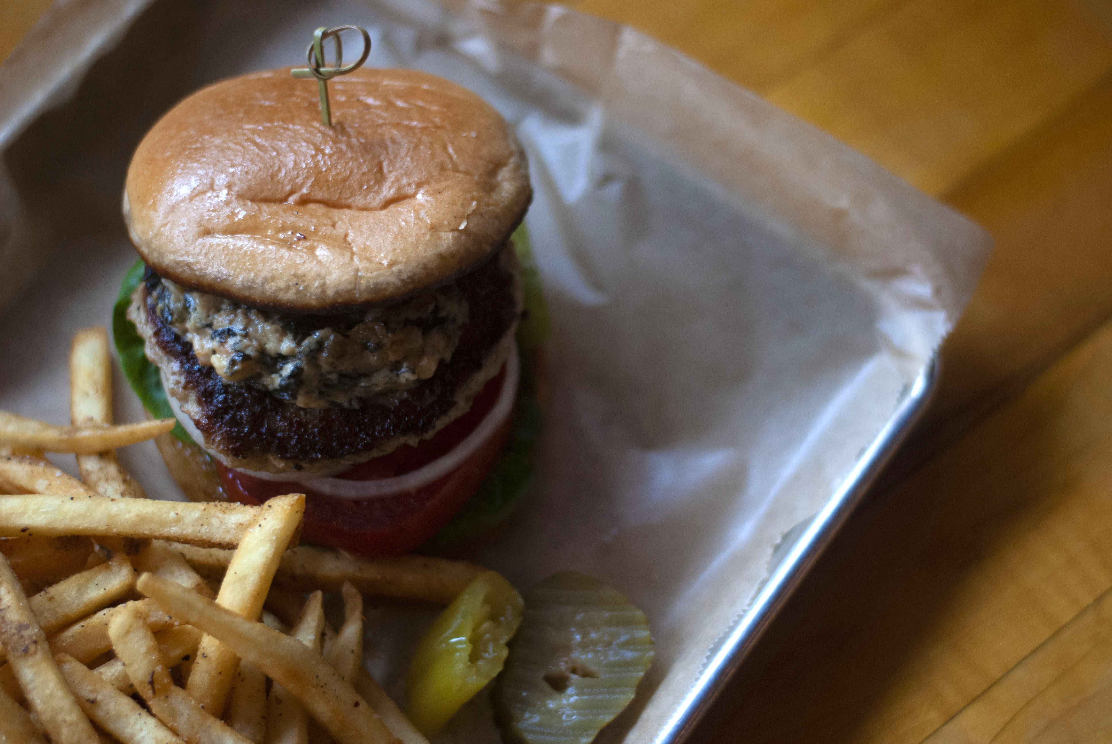 Hot Chip Vegan Burger Bar