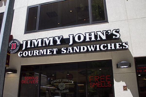 jimmy john s sandwich shop downtown rochester mn rh downtownrochestermn com