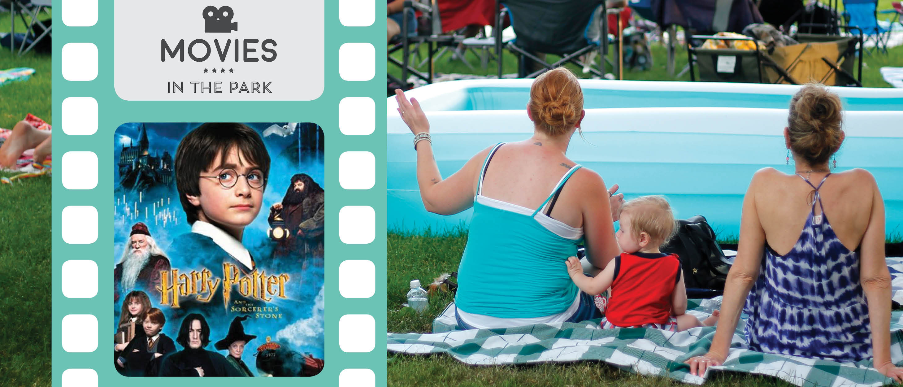 b93aac13dd Be spellbound by Harry Potter & The Sorcerer's Stone as the first film of  the 2019 Movies in the Park season! Muggles and wizards alike are welcome  to this ...