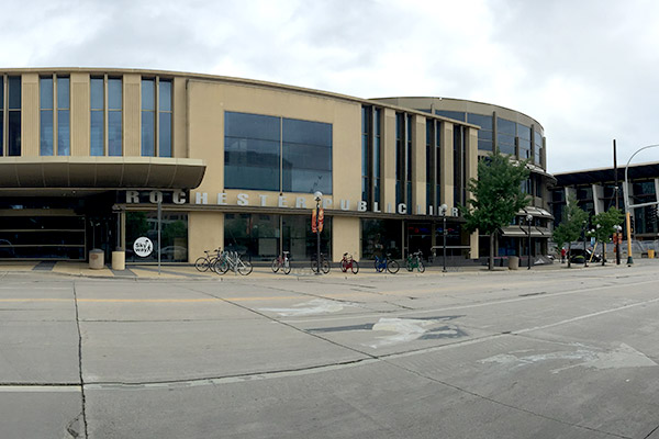 Rochester public library downtown rochester mn for Park place motor cars rochester mn