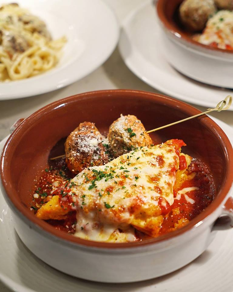 Terza Meatballs and Lasagna
