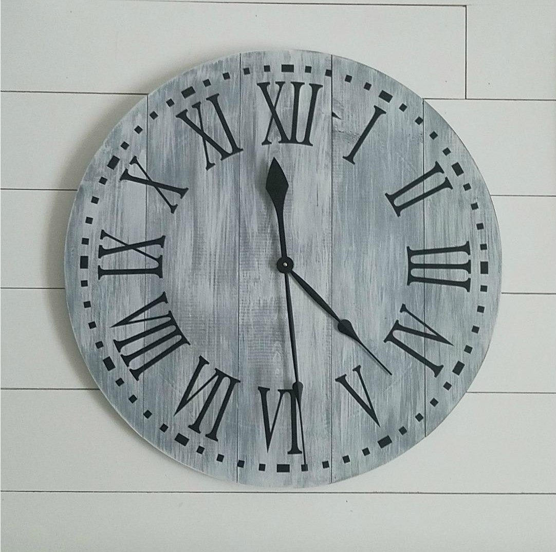 At The End Of Night You Will Leave With A Cute Functional Clock Ready To Hang In Your Home Grab Friend And Channel Inner Joanna Gaines
