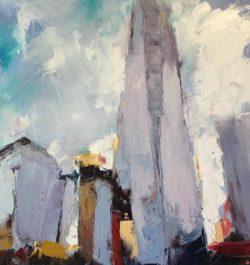 abstract art landscape