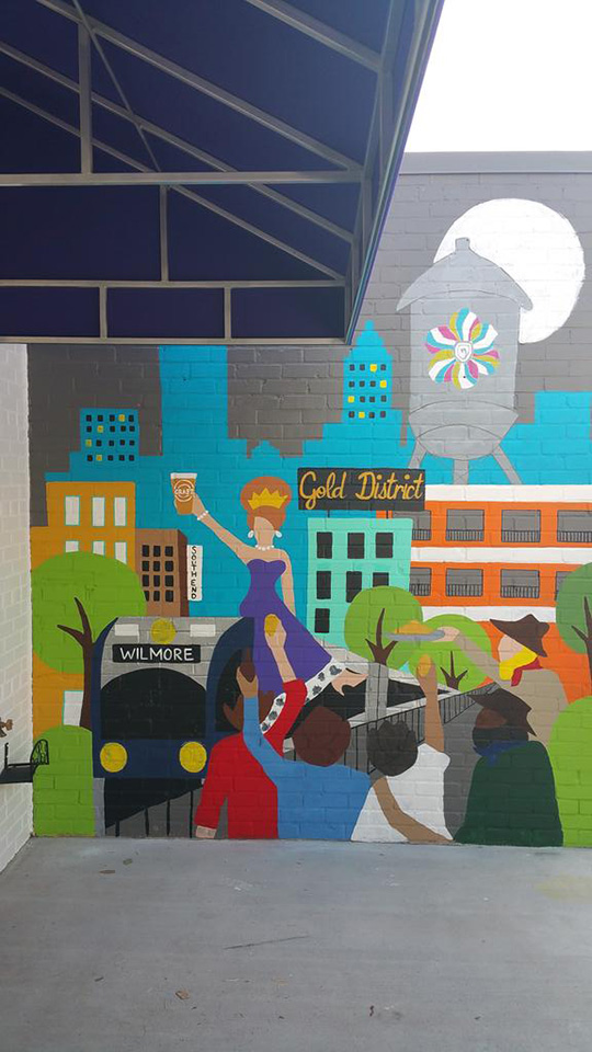 Gold District Community Mural