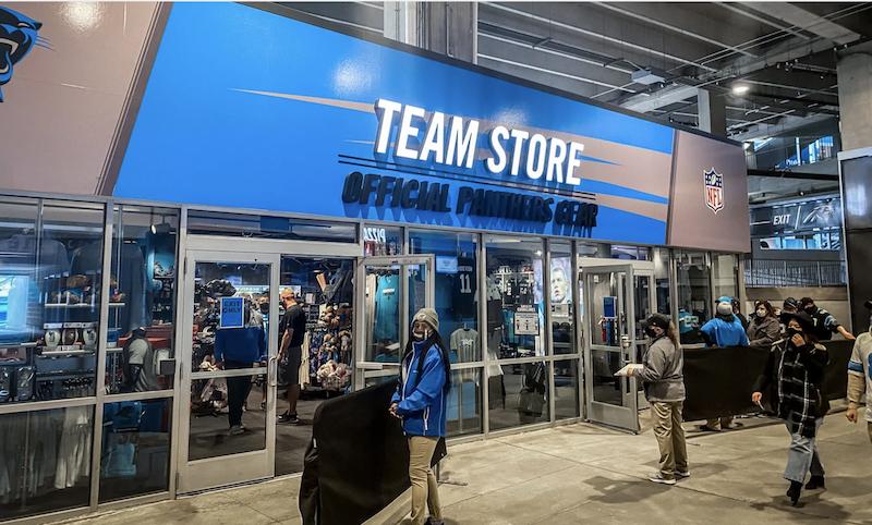 Bank of America Team Store (Carolina Panthers/ Charlotte FC)