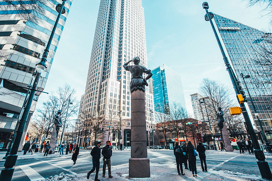 Walk This Way: Free Self-Guided Tours Through Uptown Charlotte