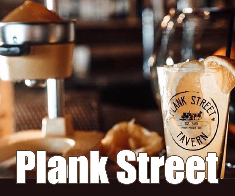 Crushin' on the Orange at Plank Street Tavern!
