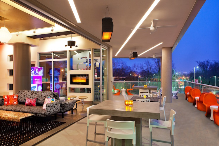 Aloft Raleigh Hotel and WXYZ Lounge