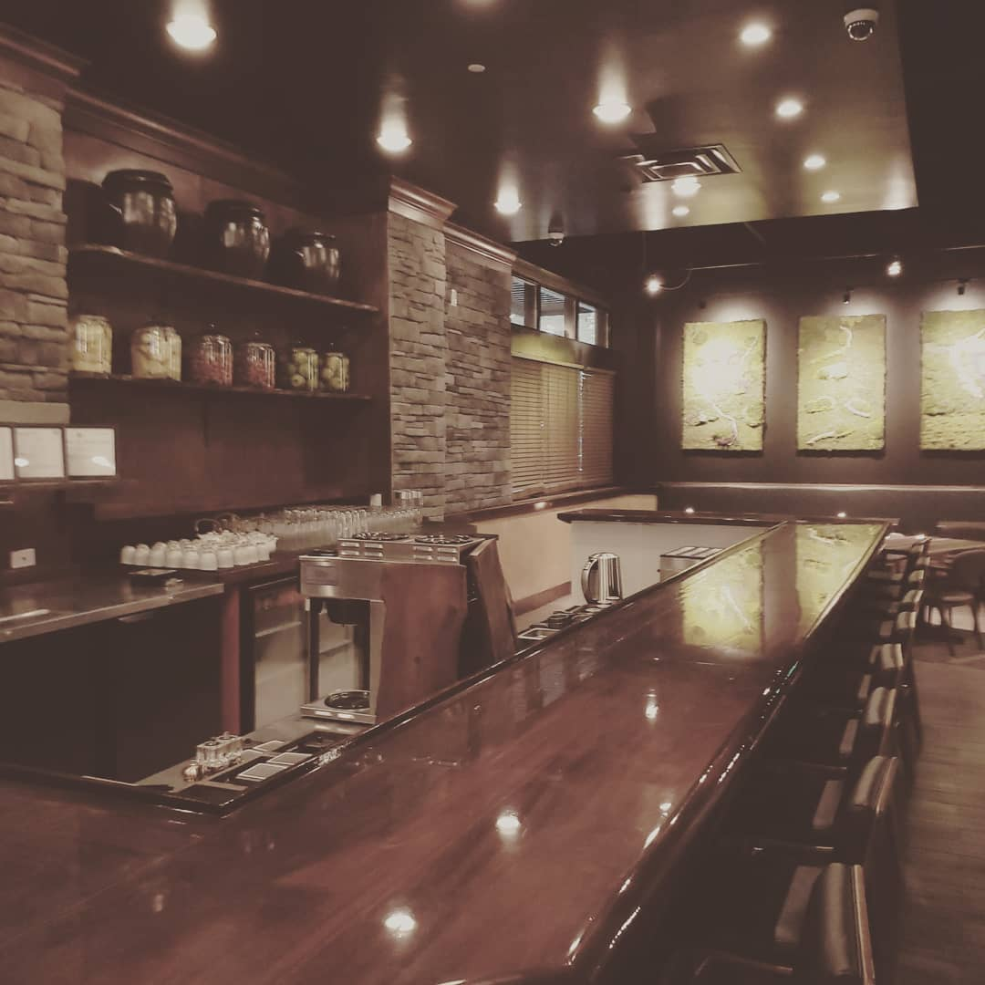 Inside Bar at Sushi Mon Raleigh