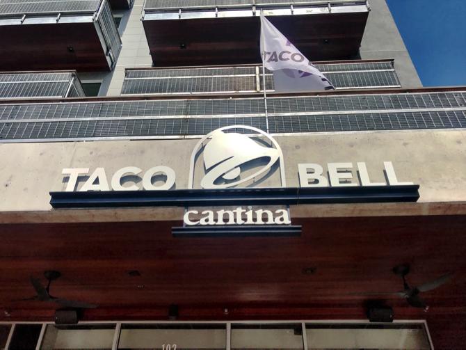 Taco Bell Cantina Sign