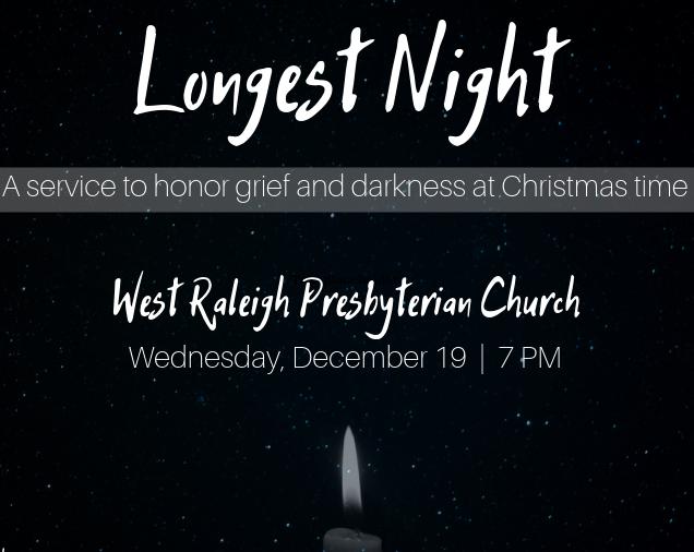 Longest Night Worship - Hillsborough Street Events