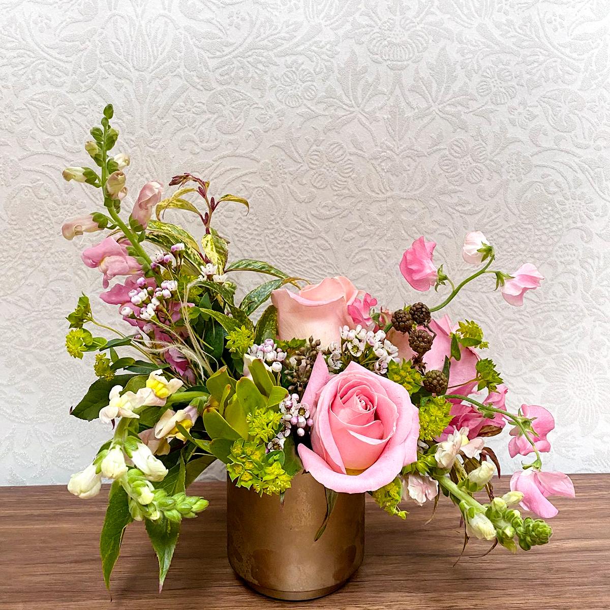 Brewery Bhavana flower arrangement