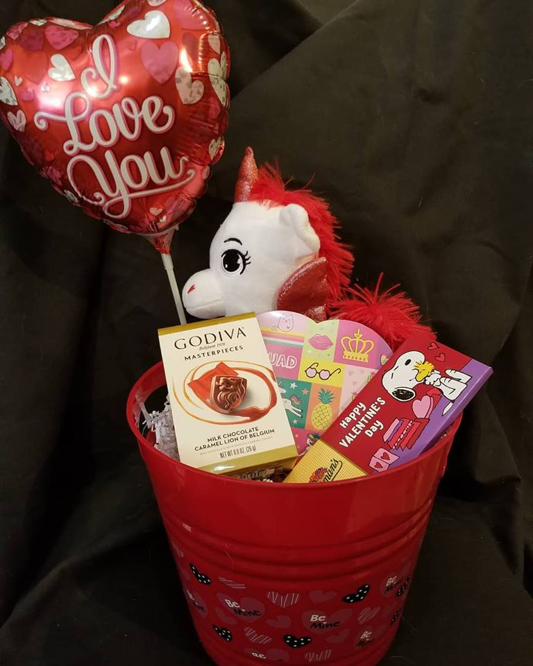 Balloon and Chocolate Bouquet
