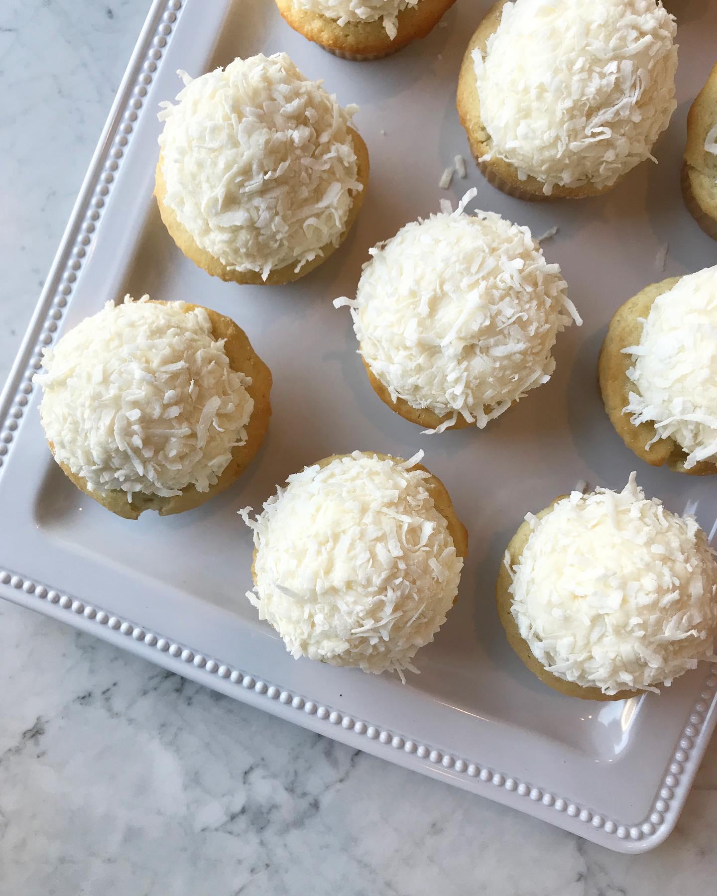 Cupcake Shoppe coconut cupcakes